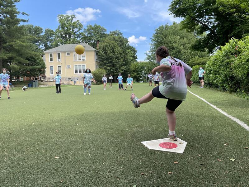 Grades 3-8 Kickball Game Featured Photo