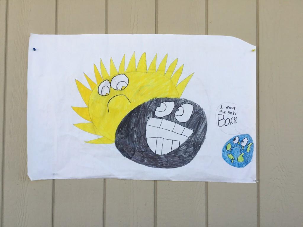 Solar Eclipse Art