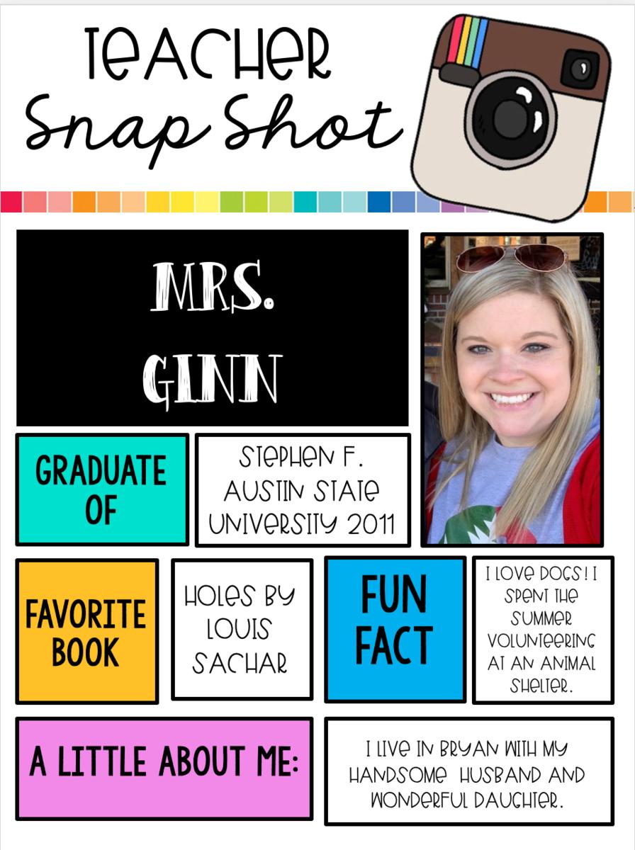 About Mrs. Ginn