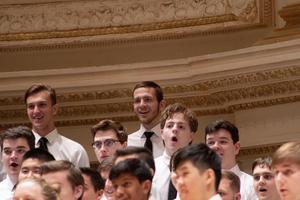 Riverdale senior Caleb Shew at Carnegie Hall