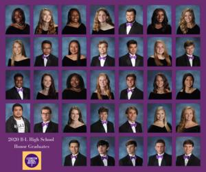 B-L High School Class of 2020 Honors Announced