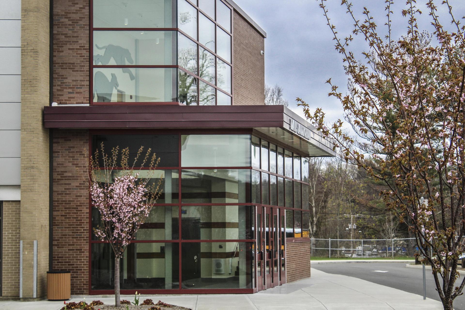 Naugatuck High School Exterior