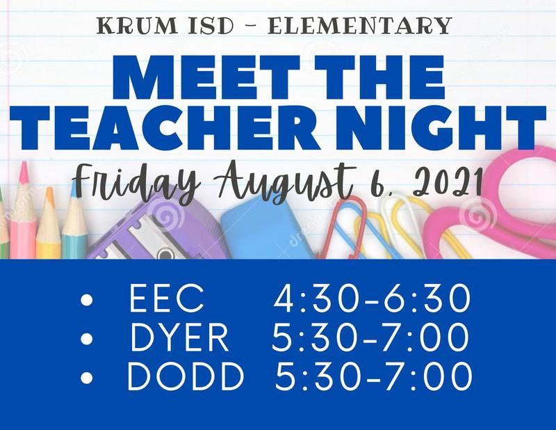 Meet the Teacher is August 6! Featured Photo