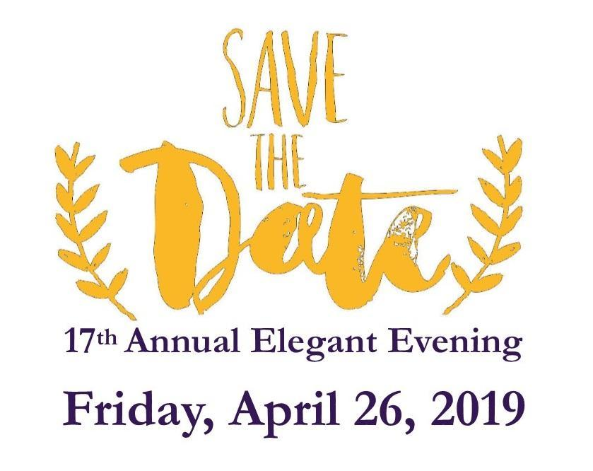 Save the date April 26, 2019