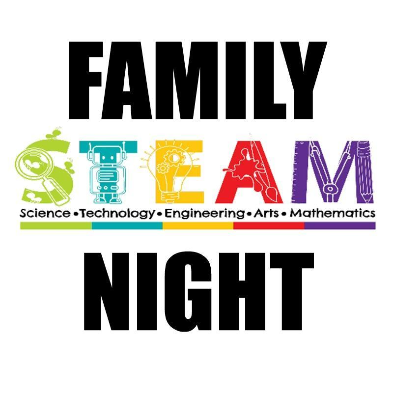 SAVE the Date for Family STEAM Night Featured Photo