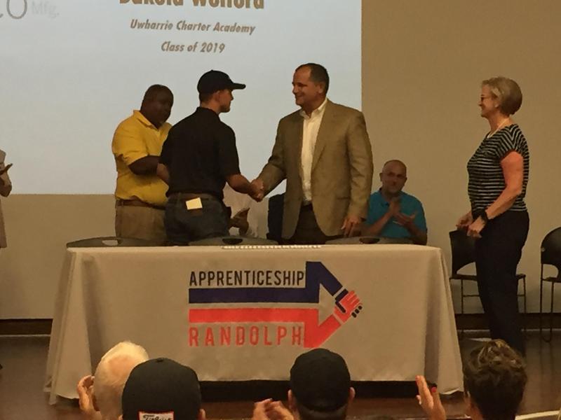 Dakota Wolford, rising Senior at UCA, 2018 Apprenticeship Randolph Recipient Featured Photo