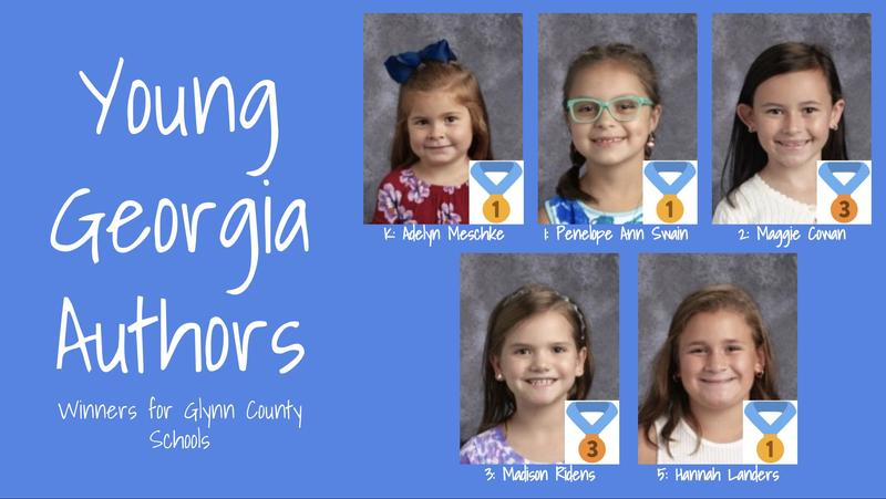 Young Georgia Author's Writing Competition Featured Photo