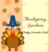 picture of thanksgiving luncheon info