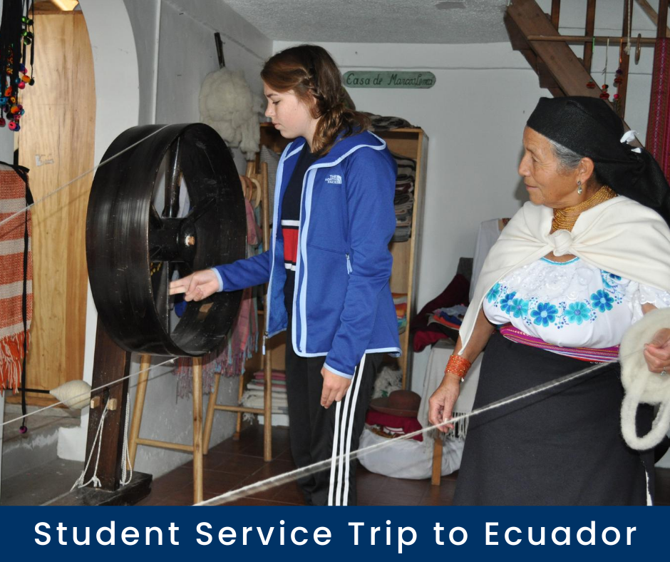 Student Service Trip to Ecuador