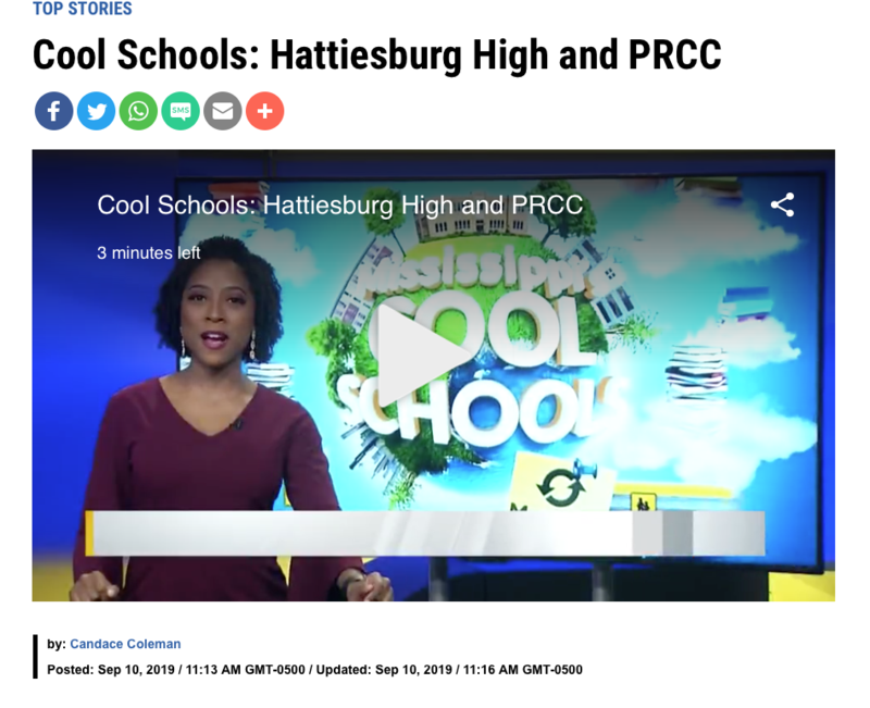 HHS Featured on WJTV's Cool Schools Featured Photo