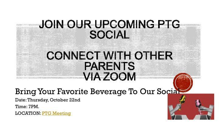 Upcoming PTG Social