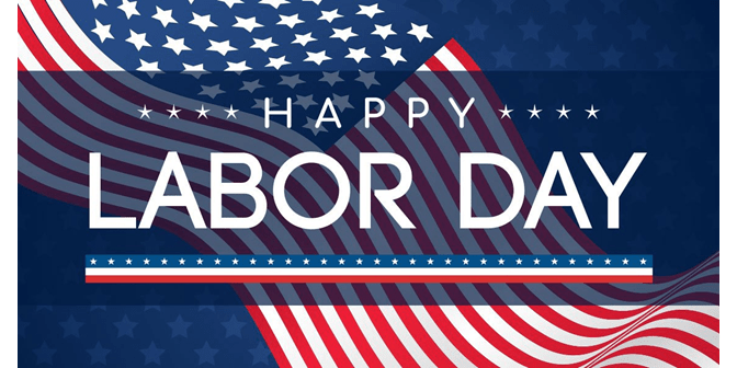 Happy Labor Day! Featured Photo