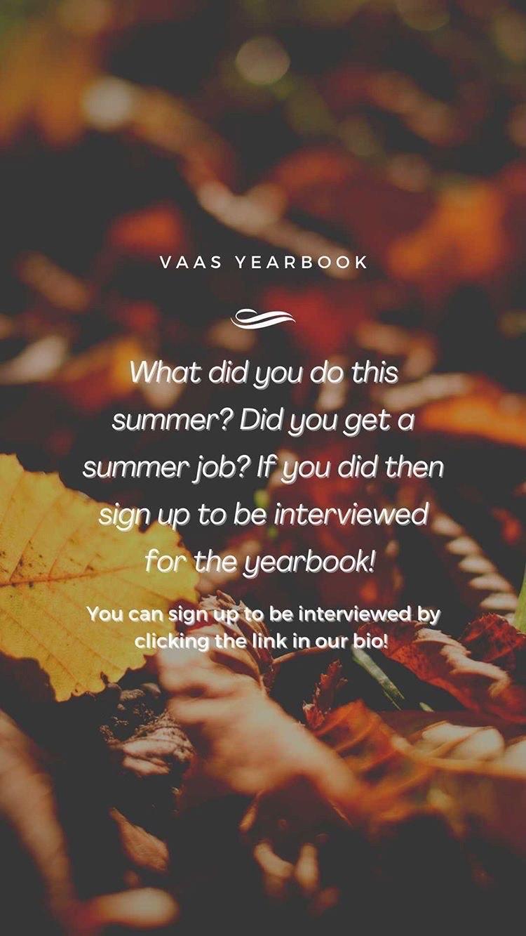 Summer Jobs Interview