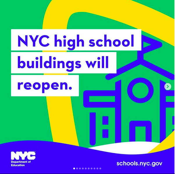 NYC High Schools Reopening Featured Photo