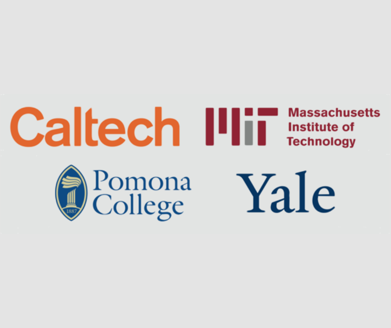 Caltech, MIT, Pomona, and Yale Tours
