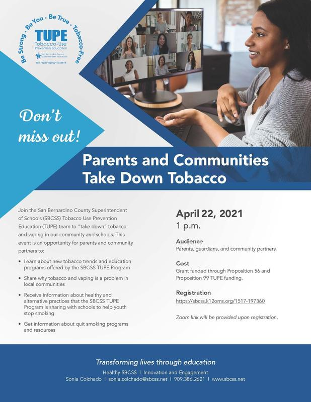 Important resource and opportunity for parents! Featured Photo