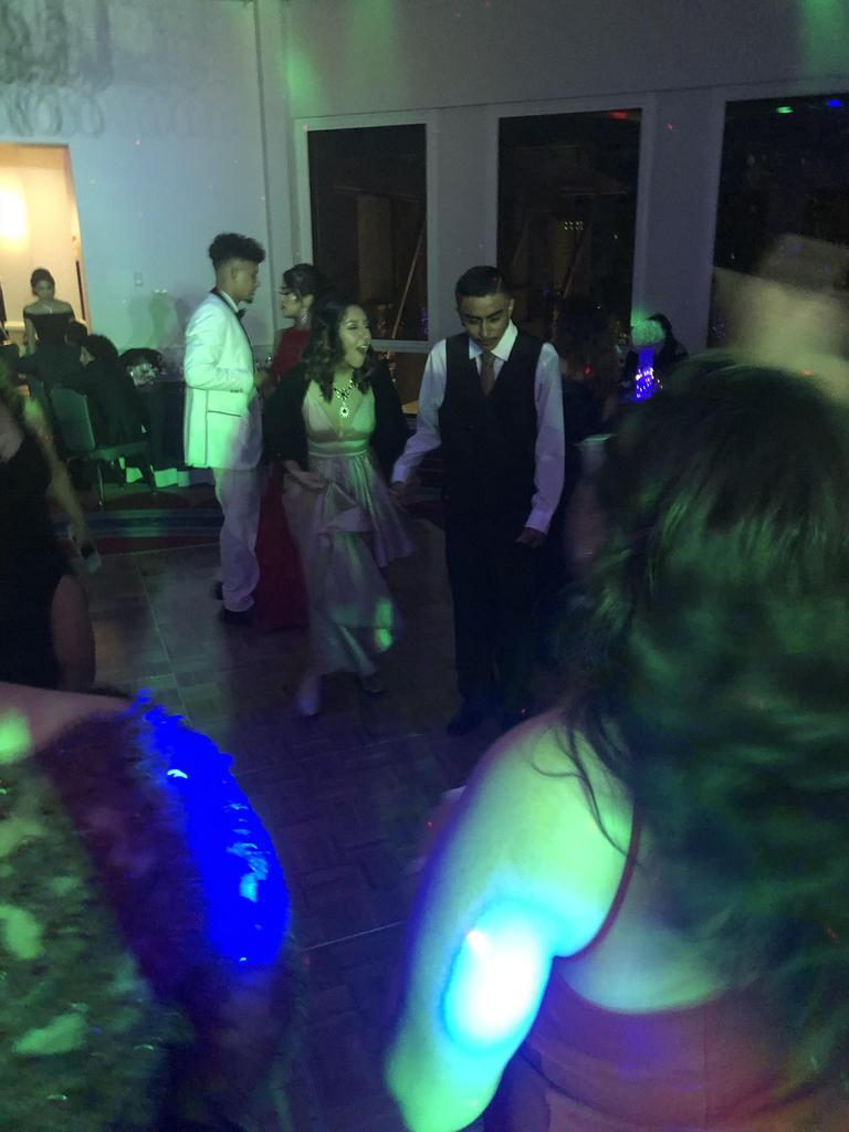 Students on the dance floor