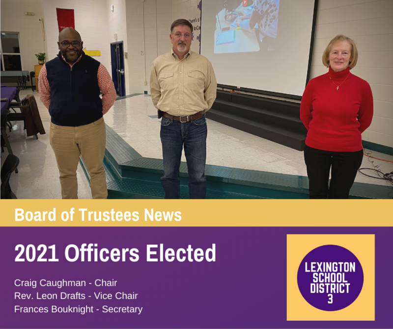 Board of Trustees Selects New Officers