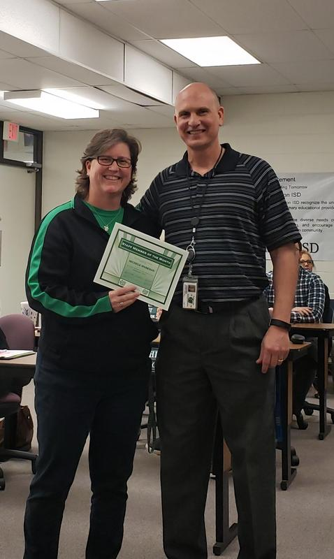 CMS February Staff Member of the Month