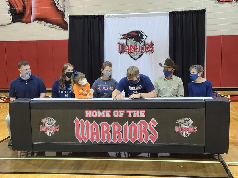 athlete signing