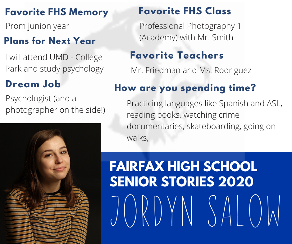 Jordyn Salow photo and list of activities
