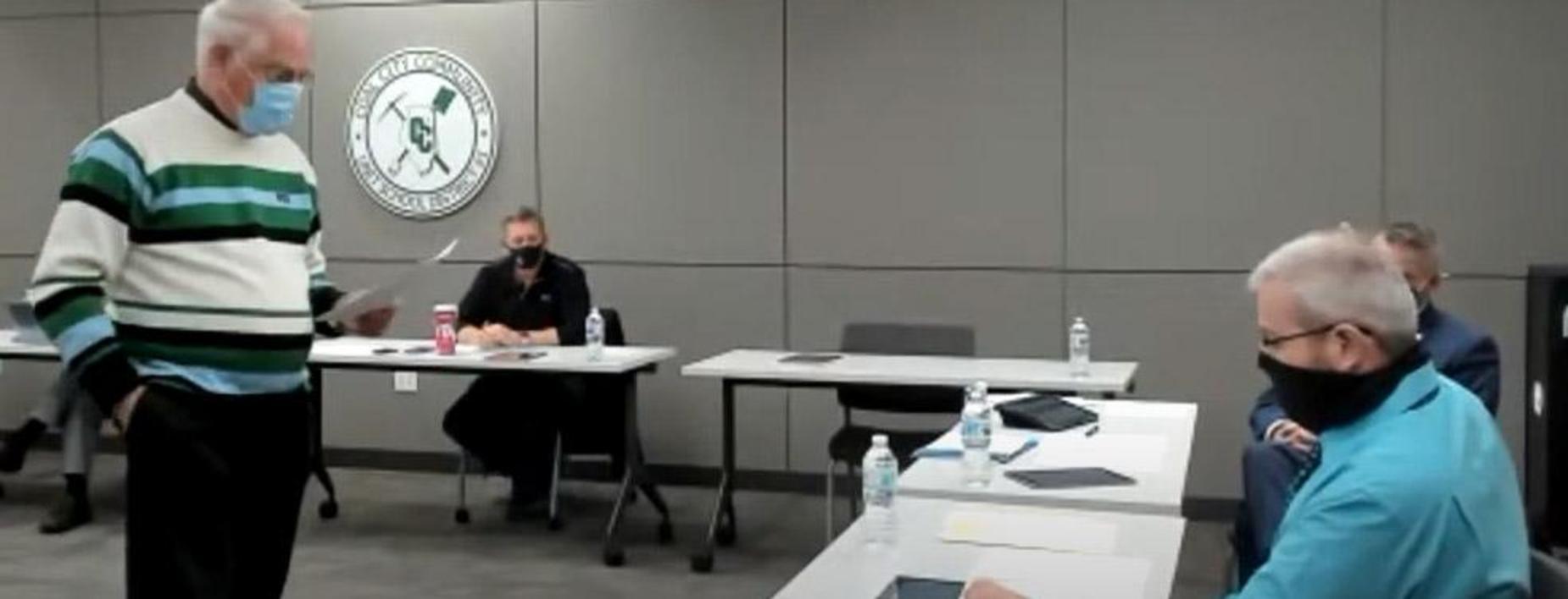 New Board member sworn in