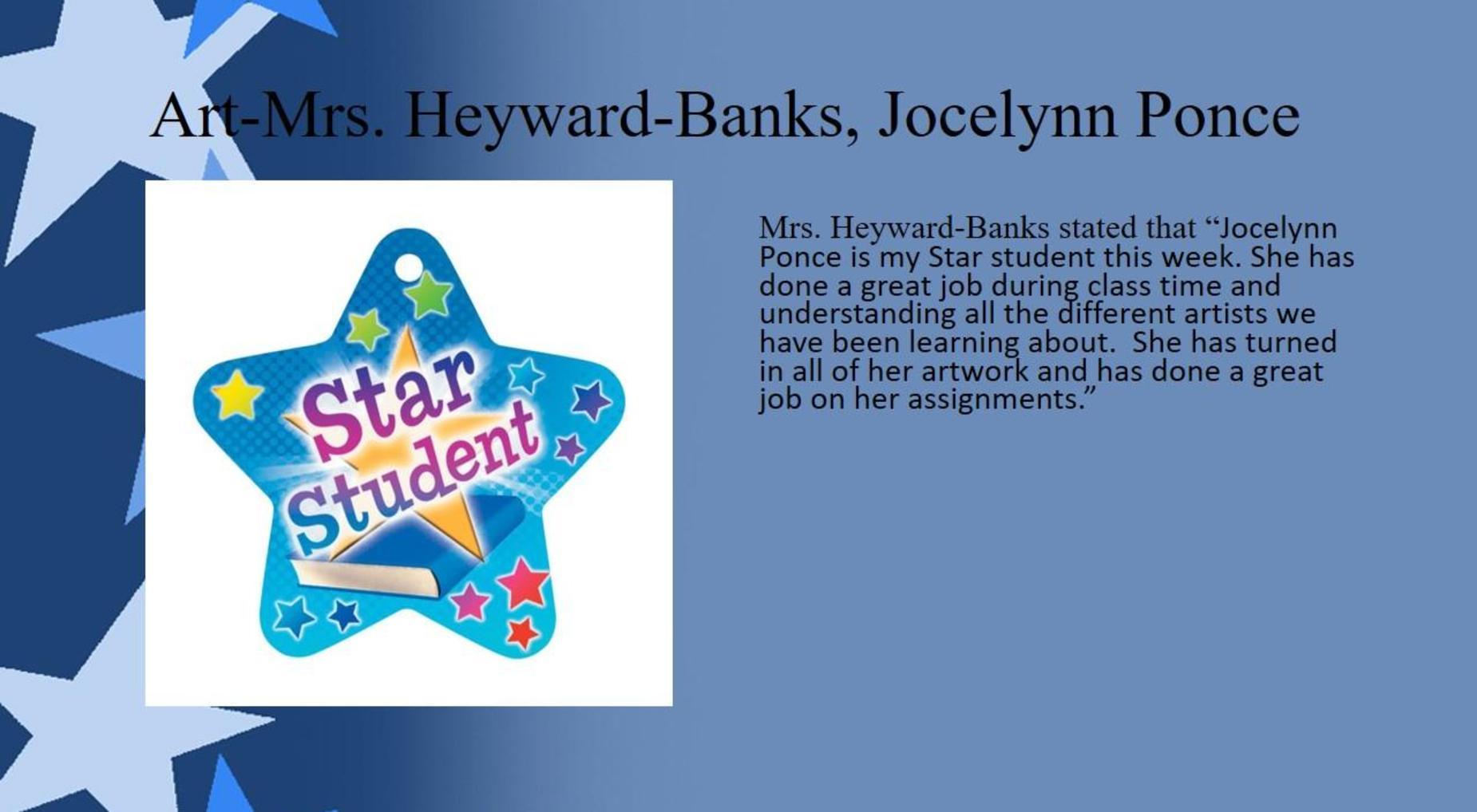 Jocelynn Ponce, Art