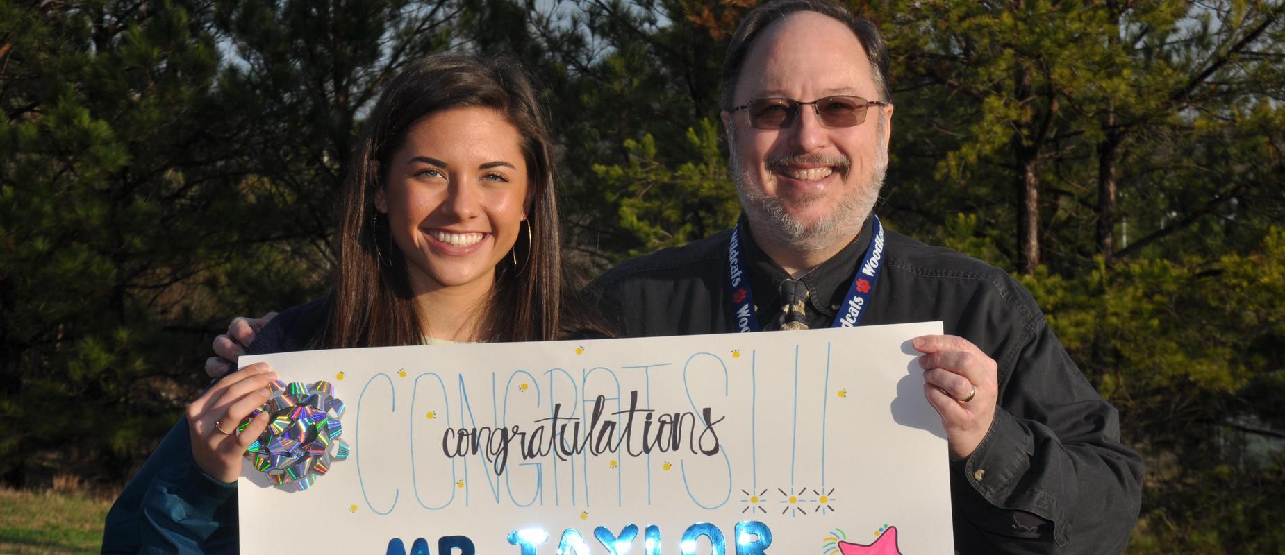 McKenna Trapheagen Wins WHS STAR Student Award!