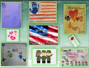 Veterans day drawings