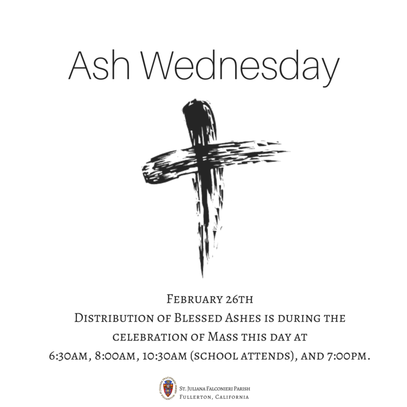 Ash Wednesday Featured Photo