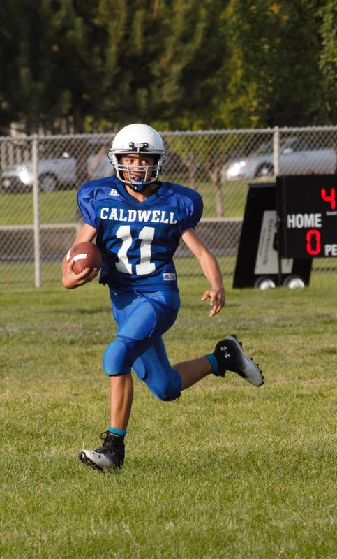 Cougars Get Win Over Sage in 8B Football! Thumbnail Image