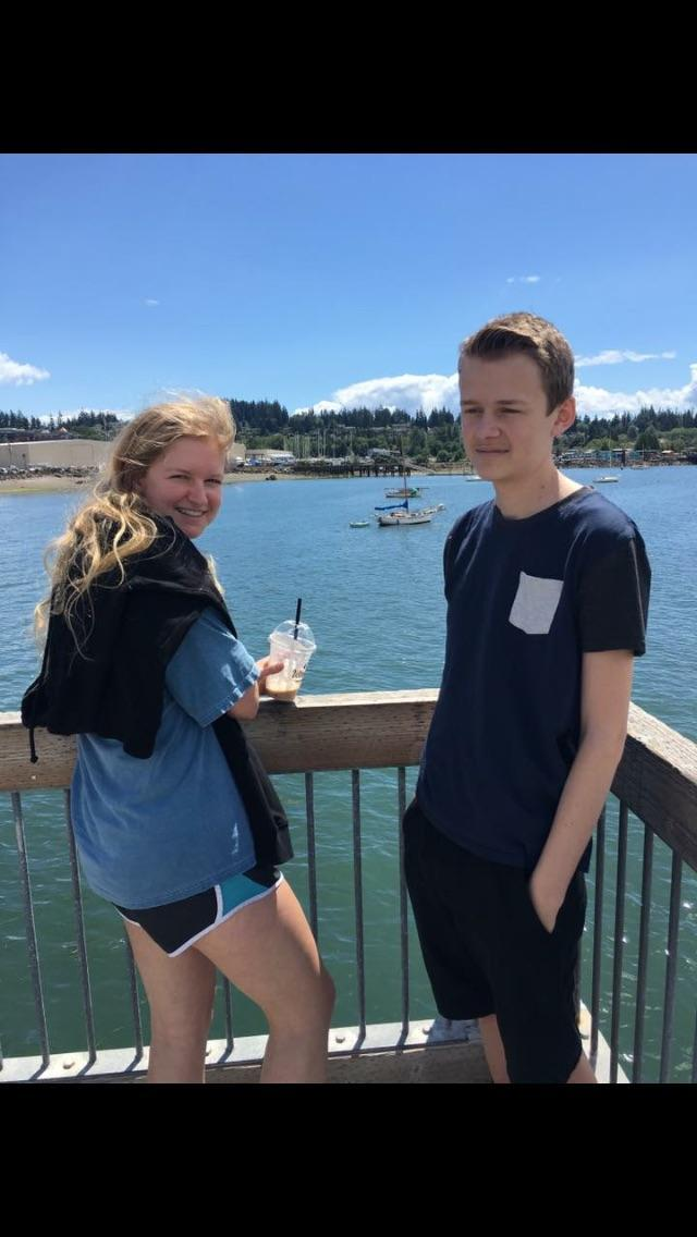 Megan, Josh, and I were in Bellingham, WA this summer.