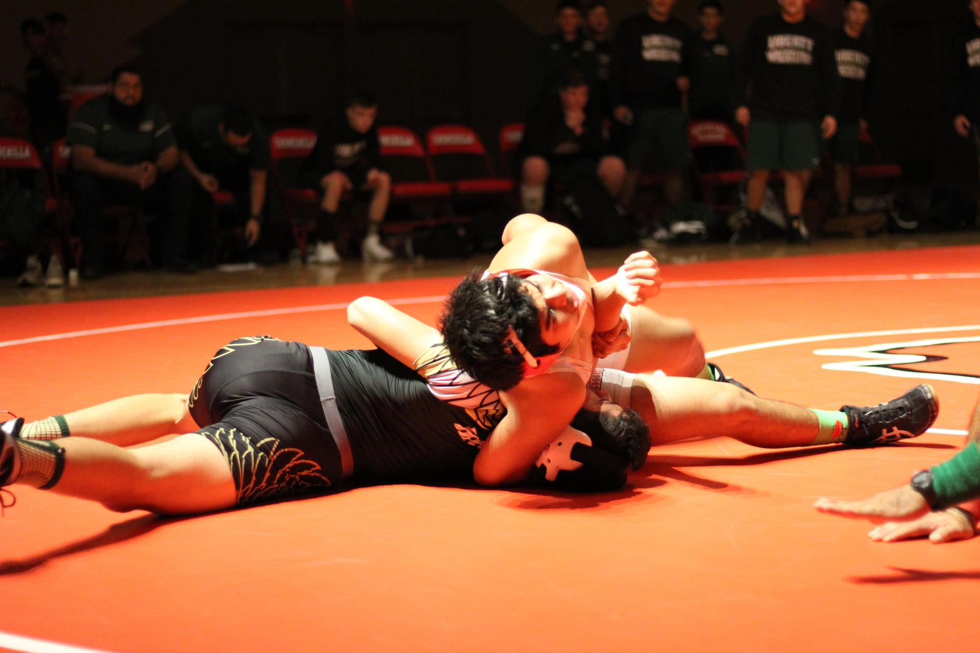 Wrestlers in Action vs Liberty