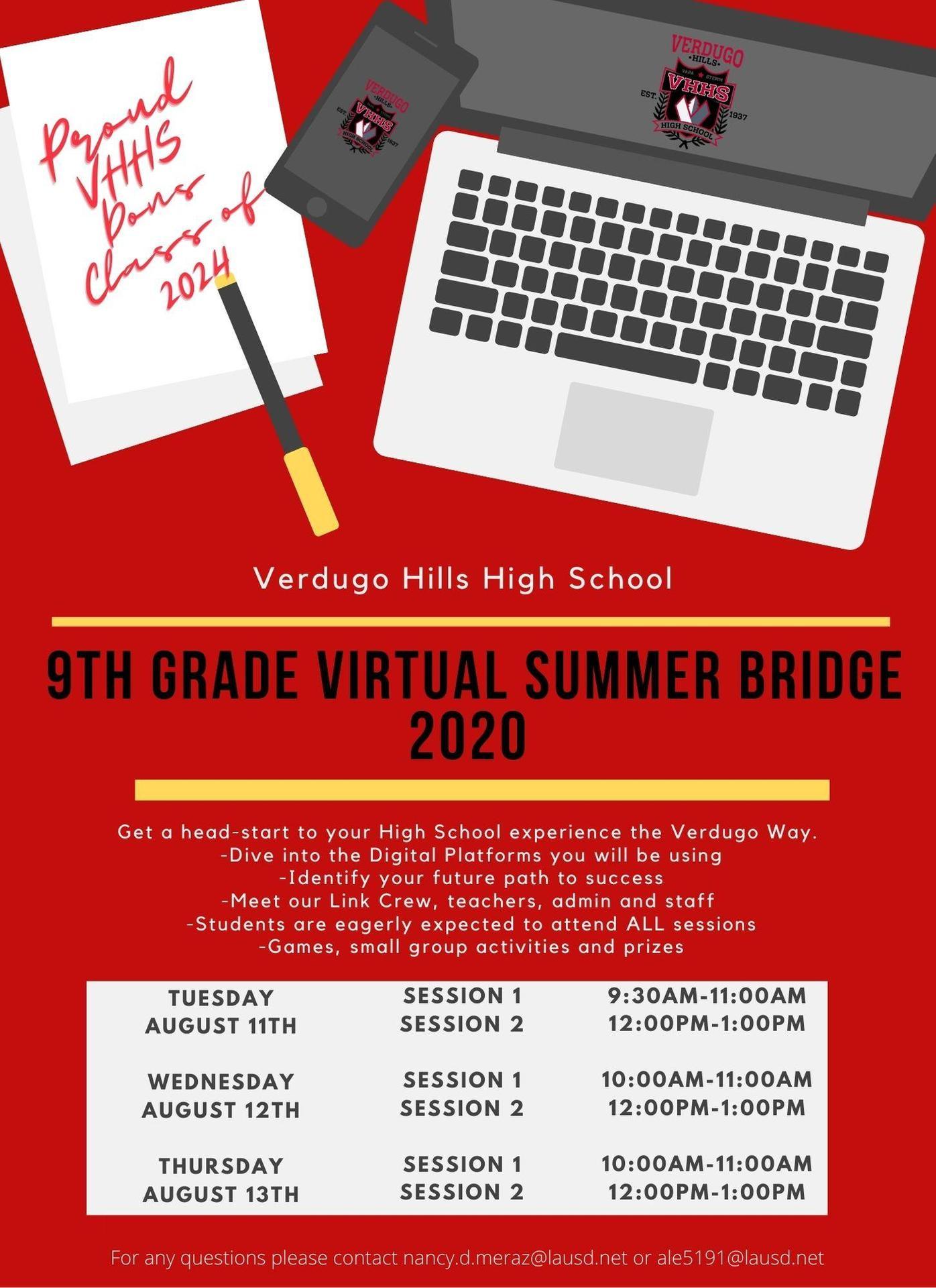 Summer Bridge Flyer