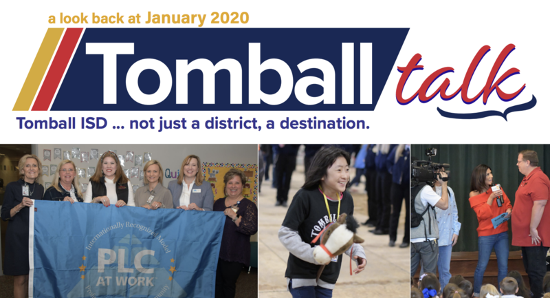 January Tomball Talk cover