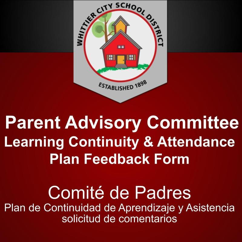 Parent Advisory Committee Feedback Form