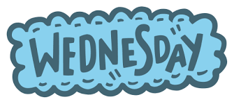 Graphic of the word Wednesday