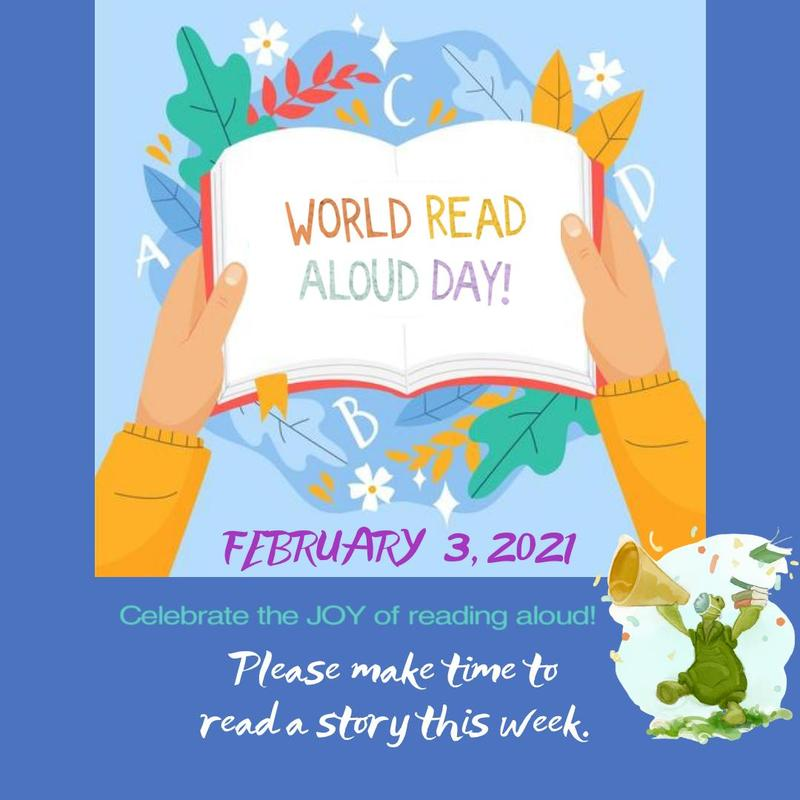 World READ Aloud Day 2021 Featured Photo