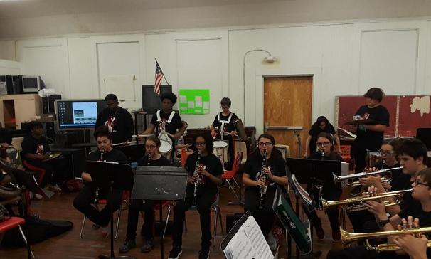 PORT BARRE HIGH SCHOOL BAND