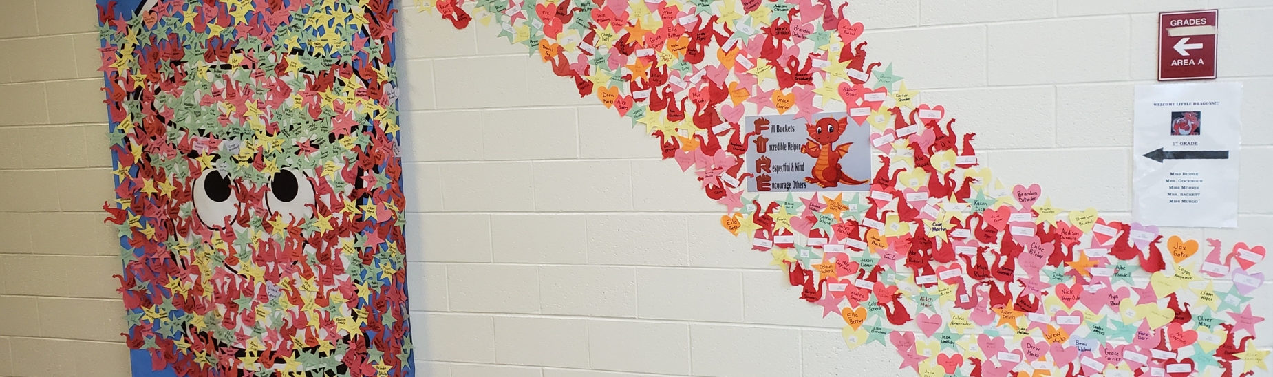Students at Spring Cove Elementary are filling buckets by being kind to each other.