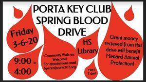 Blood Drive 3/6/20