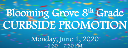8th Grade Curbside Promotion Ceremony Thumbnail Image