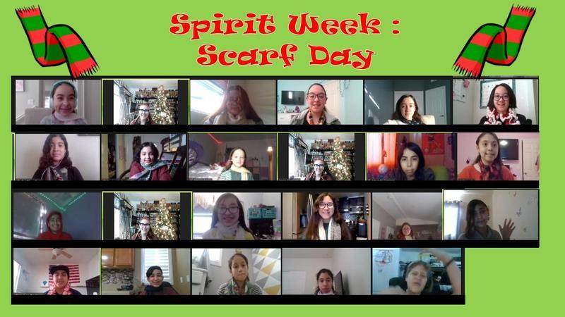 Winter Spirit Week - Day 2 (Scarf Day) Thumbnail Image