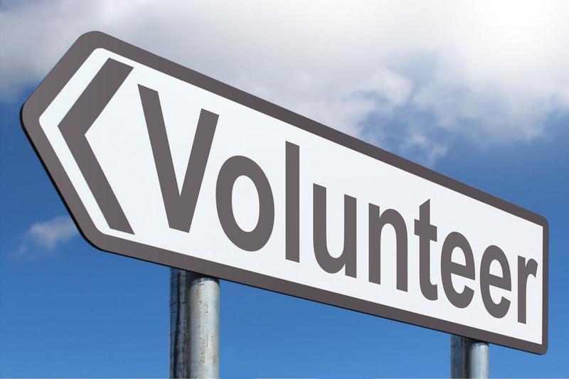 volunteer sign