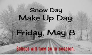 May 8 is a school day!