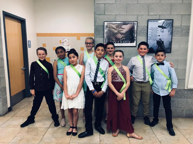 Dancers at Park Elementary