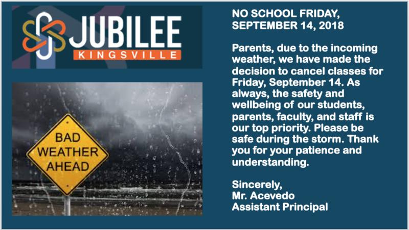 No school 9/14/18