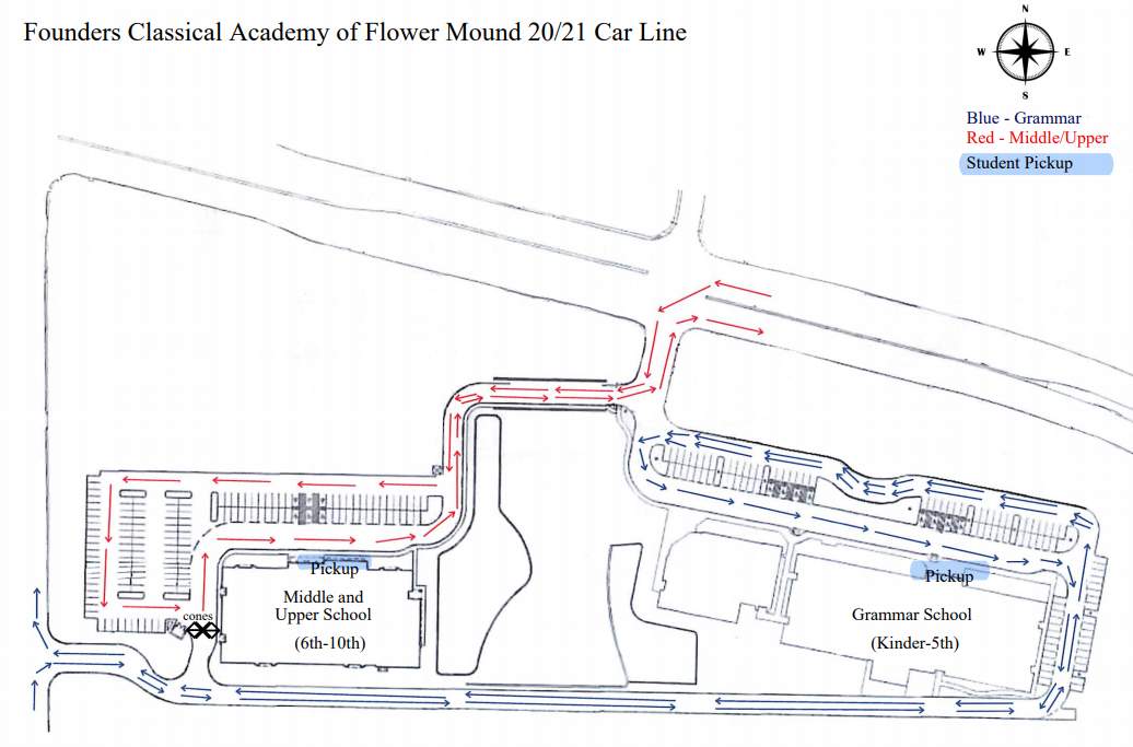 car line map