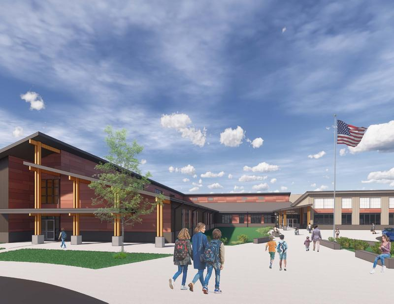 architect rendering of Loma Vista Elementary School