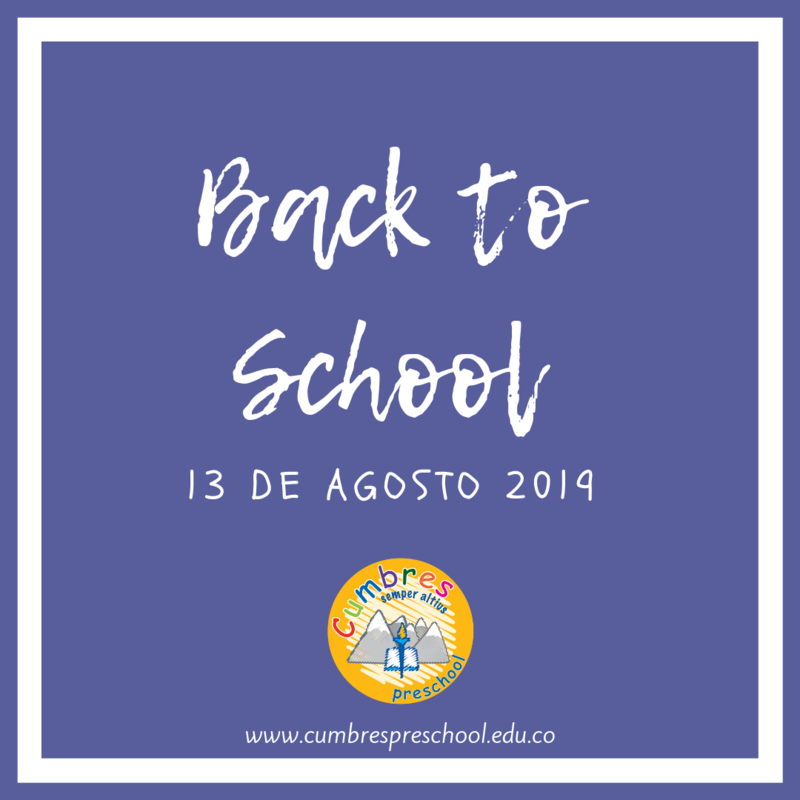 Inicio año escolar 2019- 2020 Preescolar Featured Photo